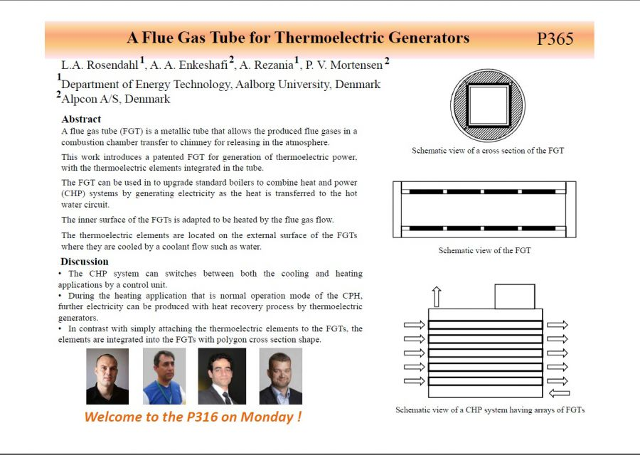 Flue Gas Tube Thermoelectric Generators